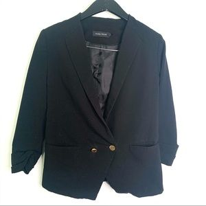 Ivanka Trump Black One Button Blazer Jacket